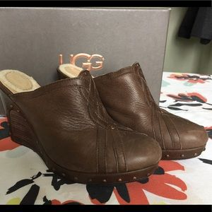 Ugg Abigale wedge shoes